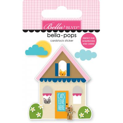 Bella BLVD Chloe Bella-Pops Sticker - Cat House
