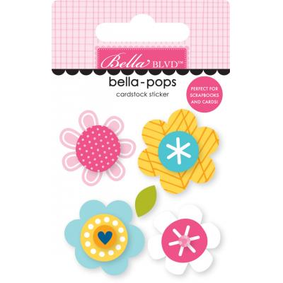 Bella BLVD Chloe Bella-Pops Sticker - Blossoms