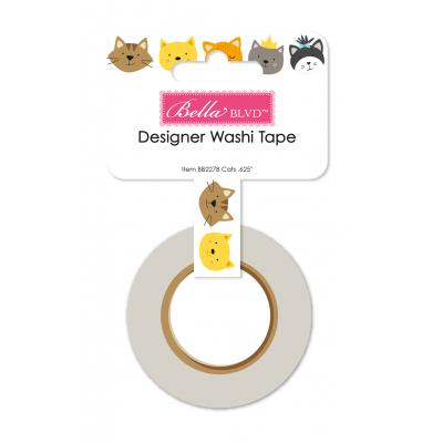Bella BLVD Chloe Washi Tape - Cats