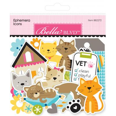 Bella BLVD Chloe Die Cuts - Ephemera Icons