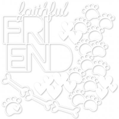 Bella BLVD Cooper Cut Outs - Faithful Friend