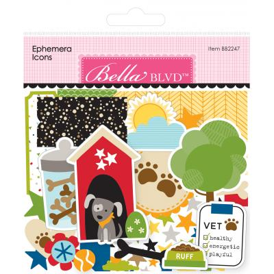 Bella BLVD Cooper Die Cuts - Ephemera Icons