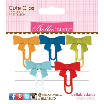 Bella BLVD Cooper Cute Clips - Pretty Boy