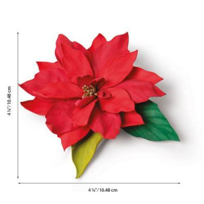 Sizzix Thinlits Die Set - Elegant Poinsettia