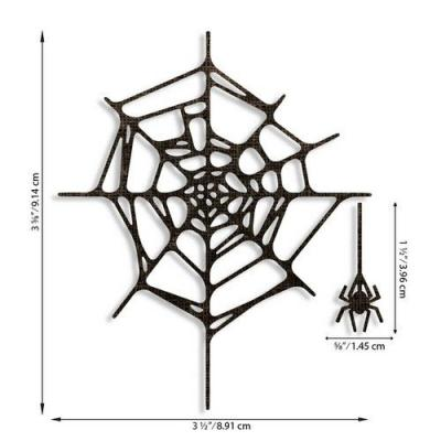 Sizzix Thinlits Die Set - Spider Web