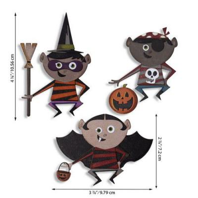 Sizzix Thinlits Die Set - Trick or Treater