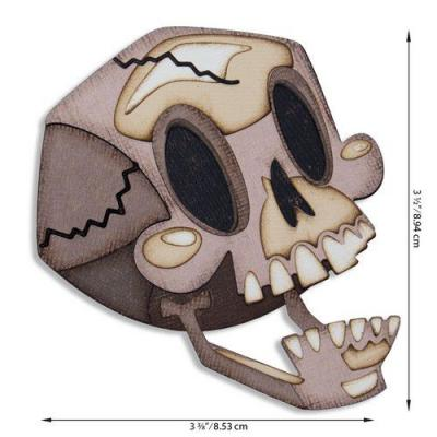 Sizzix Thinlits Die Set - Skelly Colorize