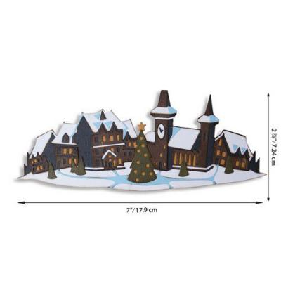 Sizzix Thinlits Die Set - Holiday Village Colorize