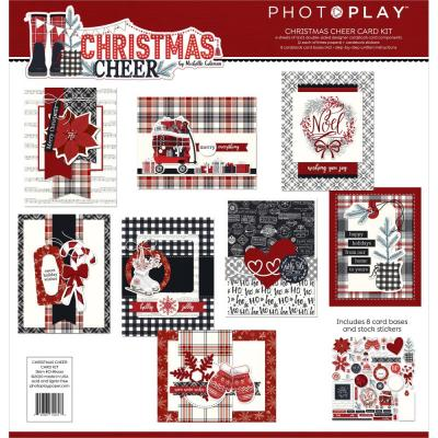 PhotoPlay Christmas Cheer Card Kit - Christmas Cheer