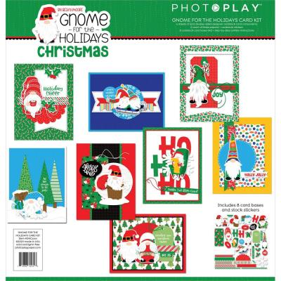 PhotoPlay Card Kit - Gnome For Christmas