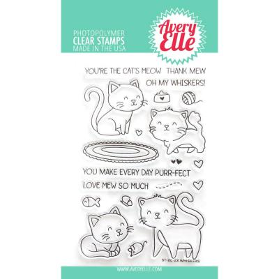 Avery Elle Clear Stamps - Whiskers