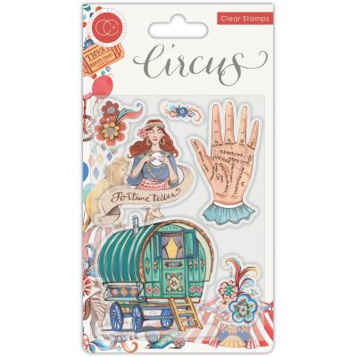 Craft Consortium Circus Clear Stamps - Fortune Teller