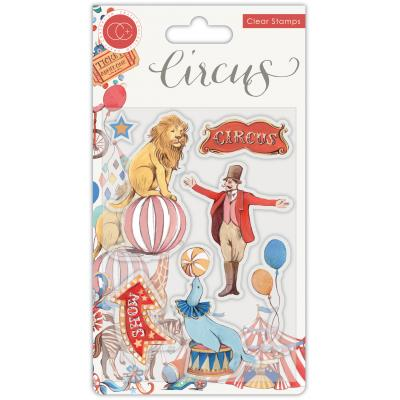 Craft Consortium Circus Clear Stamps - The Circus