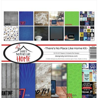 Reminisce Designpapier - There's No Place Like Home