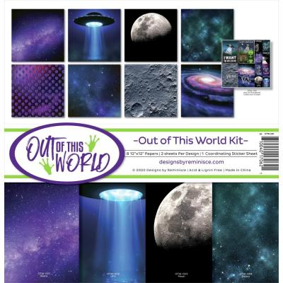 Reminisce Designpapier - Out Of This World