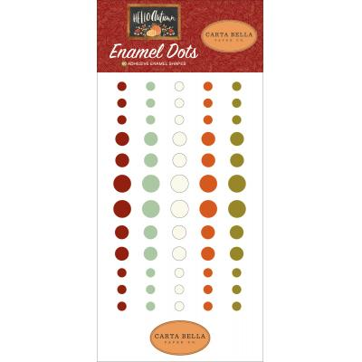 Carta Bella Hello Autumn Embellishment - Enamel Dots