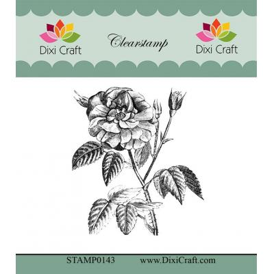 Dixi Craft Botanical Collection Clear Stamp - 9 Rose