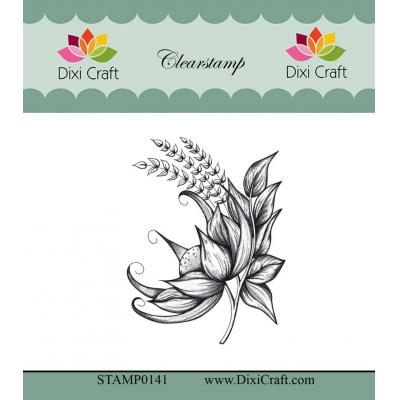 Dixi Craft Botanical Collection Clear Stamp - 7 Blume