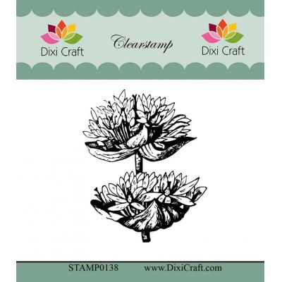 Dixi Craft Botanical Collection Clear Stamp - 4 Enzian