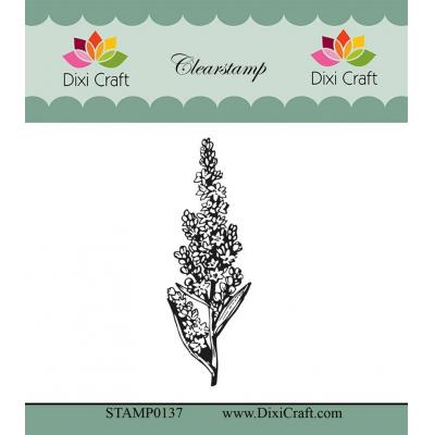 Dixi Craft Botanical Collection Clear Stamp - 3 Hyazinthe