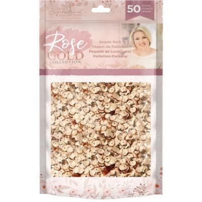 Crafter's Companion Rose Gold - Sequin Pack