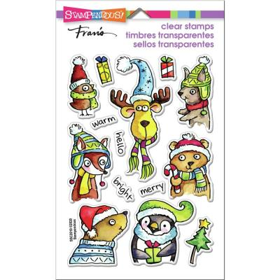 Stampendous Perfectly Clear Stamps - Winter Pals