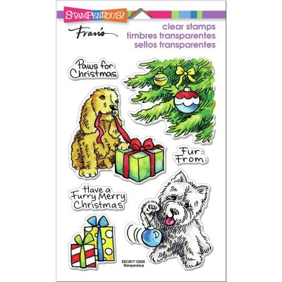 Stampendous Perfectly Clear Stamps - Furry Christmas