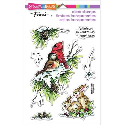 Stampendous Perfectly Clear Stamps - Birds & Bunnies