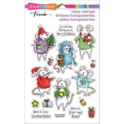 Stampendous Perfectly Clear Stamps - Felt Mice