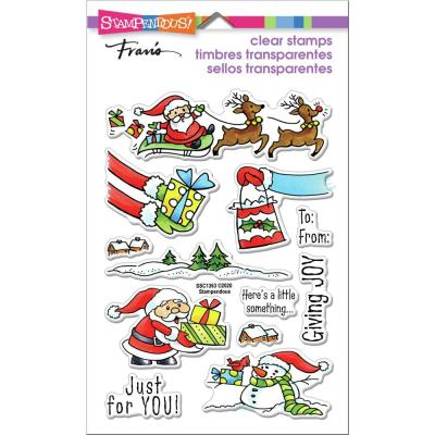Stampendous Perfectly Clear Stamps - Christmas Gift