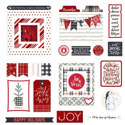PhotoPlay Christmas Cheer Die Cuts - Christmas Cheer