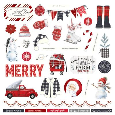 PhotoPlay Christmas Cheer Sticker - Christmas Cheer