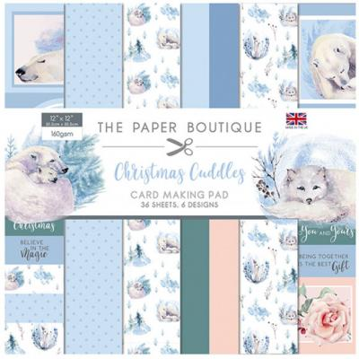 Creative Expression Christmas Cuddles Designpapier - Card Making Pad