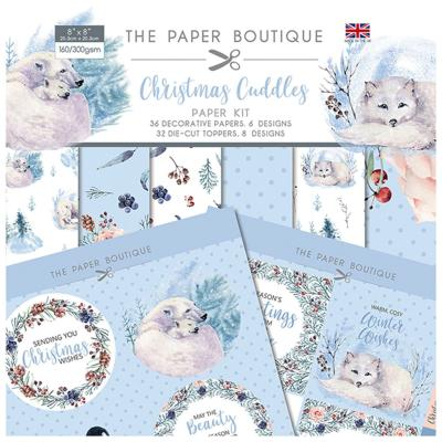 Creative Expression Christmas Cuddles Designpapier - Paper Kit