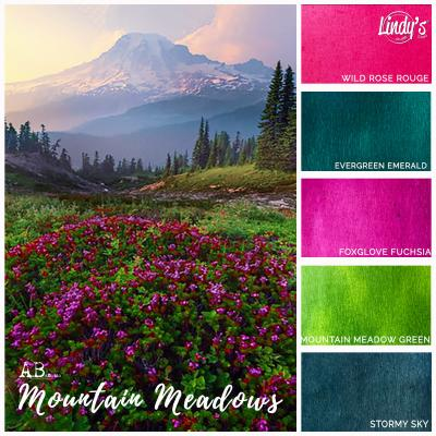 Lindy's Stamp Gang Magical Set Mountain Meadows
