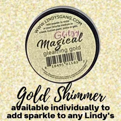 Lindy's Stamp Gang Magical - Gleaming Gold