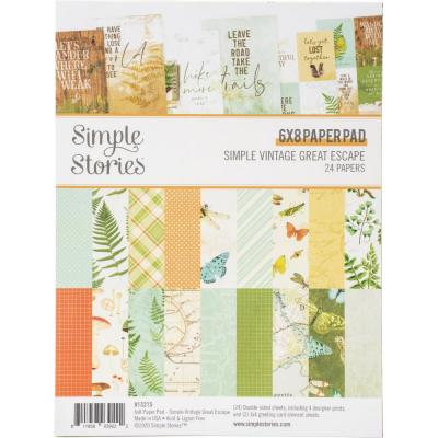 Simple Stories Simple Vintage Great Escape - Paper Pad
