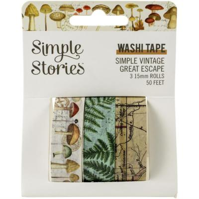 Simple Stories Simple Vintage Great Escape - Washi Tape