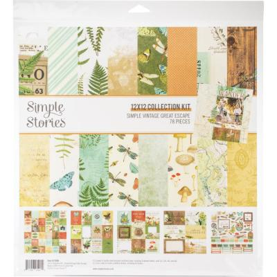 Simple Stories Simple Vintage Great Escape - Collection Kit