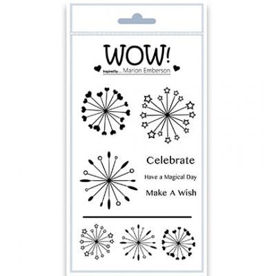 WOW! Clear Stamps - Starburst