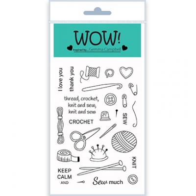 WOW! Clear Stamps - Simply Sew