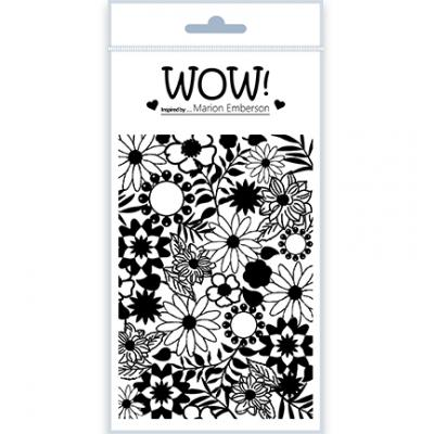 WOW! Clear Stamps - Blossom
