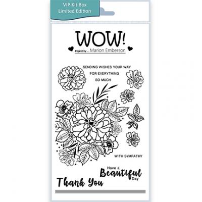 WOW! Clear Stamps - Beautiful