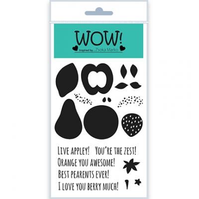 WOW! Clear Stamps - Fruit for Thought