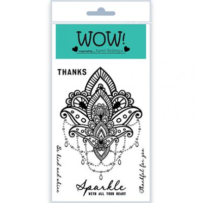 WOW! Clear Stamps - Mandala