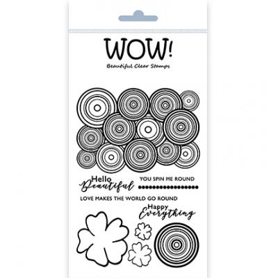 WOW! Clear Stamps - Round & Round
