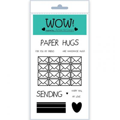 WOW! Clear Stamps - Paper Hugs