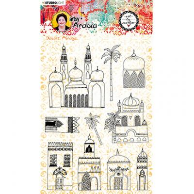 StudioLight Artsy Arabia By Marlene Clear Stamps - Nr.58