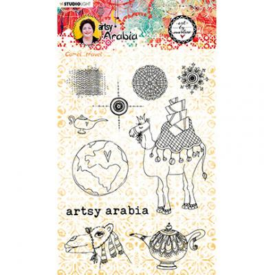StudioLight Artsy Arabia By Marlene Clear Stamps - Nr.60