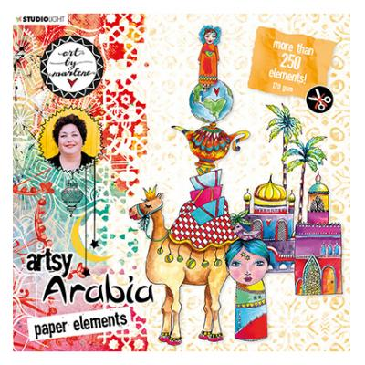 StudioLight Artsy Arabia By Marlene Die Cut Block - Nr. 01